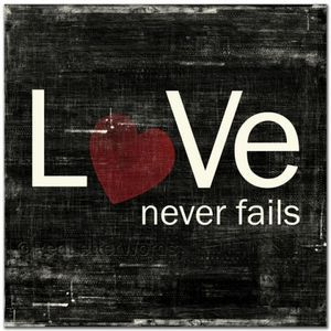 Love Never Fails Logo