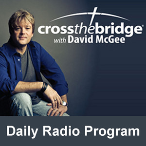 Cross the Bridge David McGee Logo