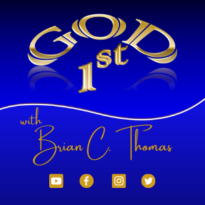 God 1st Brian C Thomas Logo